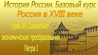 Социально экономические преобразования Петра I. Россия в XVIII в. Урок 69