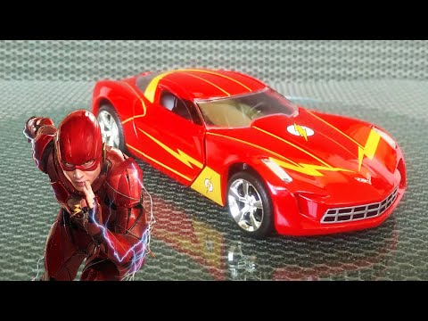 The Flash Chevrolet Corvette Stingray Concept 1:32 Scale JADA Diecast Car