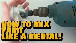 skit how to mix paint like a mental