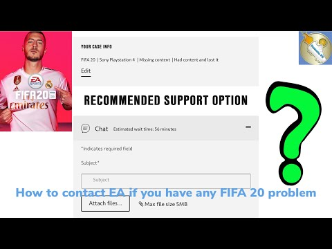 How To Contact EA If You Have Any FIFA 20 PROBLEM!!