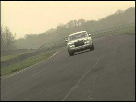 Rolls Royce Drives on the Track Phantom 2004