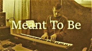 Meant To Be feat. Florida Georgia Line (Bebe Rexha) Piano Cover | Finn M-K