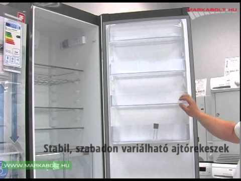 Electrolux EN3853MOX hűtőgép Márkabolt - YouTube
