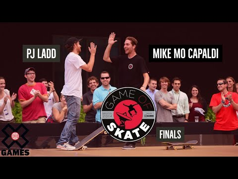 PJ Ladd vs. Mike Mo Capaldi at Game of Skate Finals - ESPN X Games