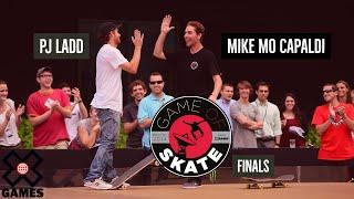 PJ Ladd vs. Mike Mo Capaldi at Game of Skate Finals - ESPN X Games