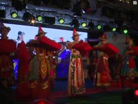 Traditional Yugur ethnic wedding