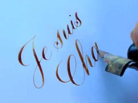 Je suis Charlie | Seb Lester Calligraphy