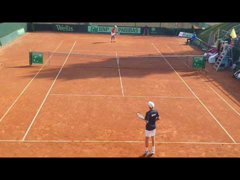 Felix Alliassime - Korda - Davis Cup Junior 2016