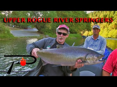 Upper Rogue Salmon Fishing
