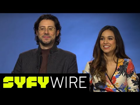 The Magicians' Hale Appleman & Summer Bishil, Best S3 Lines & When Margo Was Southern | SYFY WIRE