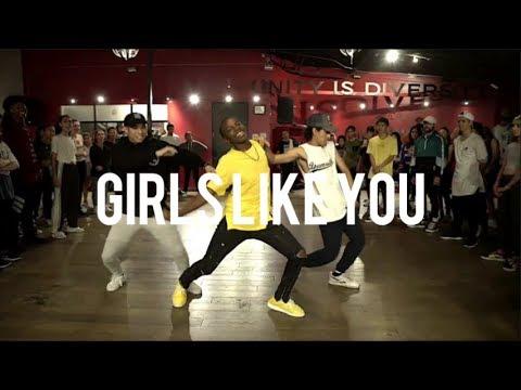 Gabe De Guzman Girls Like You  Maroon 5 ft Cardi B Choreography Matt Steffanina