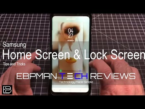 Samsung Galaxy S9 & S9+ Home Screen & Video Lock Screen Tips and tricks