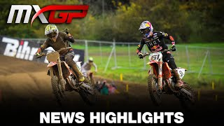 News Highlights - MXGP of Limburg 2020