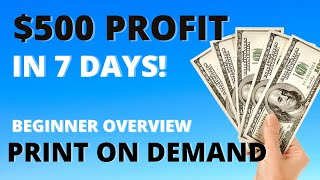 Make Money With Print On Demand - Beginner Overview - Drop Shipping Business Ideas