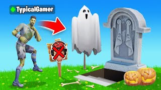 I Went UNDERCOVER in a ZOMBIE ONLY Tournament! (Fortnite)