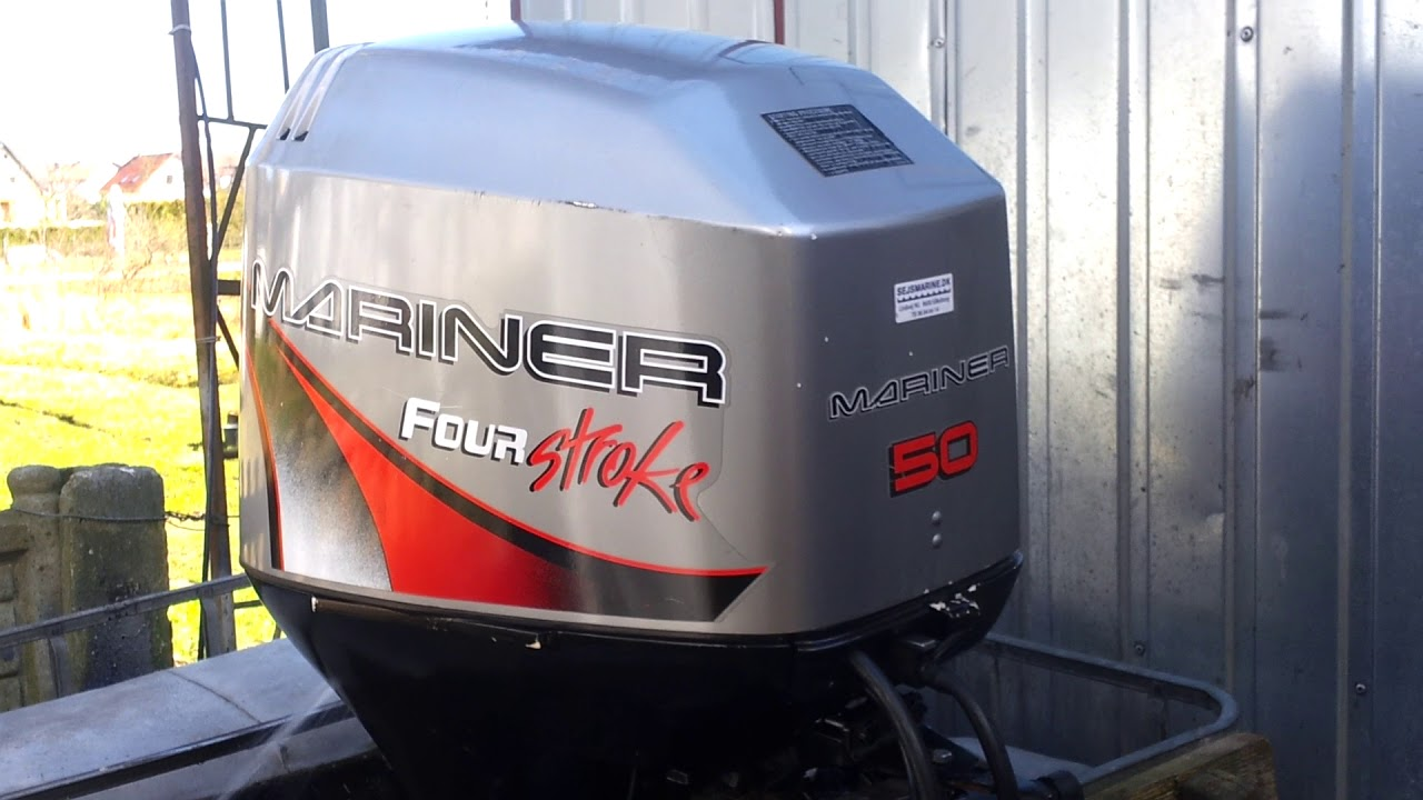 1999 Mariner  Mercury 50 Hp Outboard Motor 4