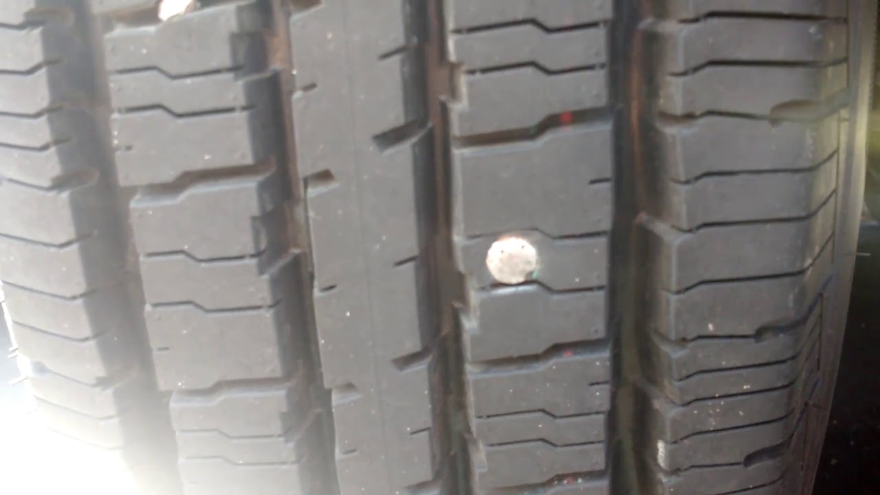 Roofing Nail - Brand New Tire 😬😩🍺🐵 - YouTube