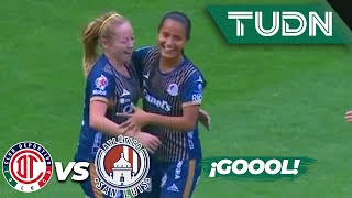 ¡Gol de Aylin Hdz! | Toluca 3 - 1 Atlético San Luis | Liga MX Femenil - J 14 - AP 2019 | TUDN