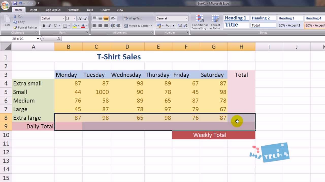 Excel For Beginners Spreadsheets Hd