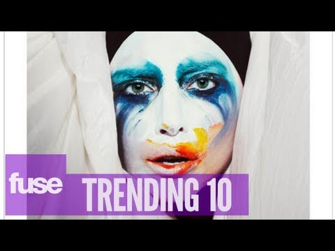 "Lady Gaga's ""Applause"" New Single Artwork - Trending 10 (7/29/13)"