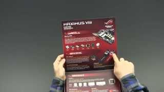 ASUS Maximus VIII Gene Unboxing Review