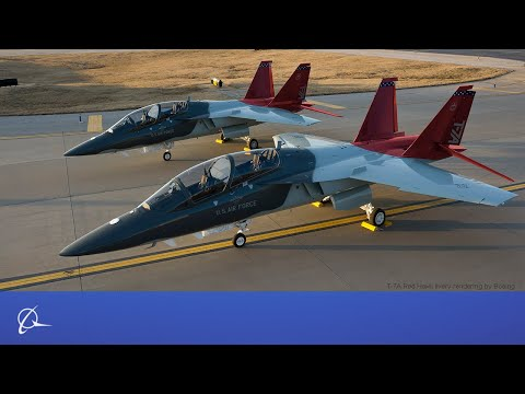 T-7A Red Hawk Production Begins