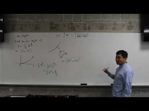 Introduction to arc length calculation