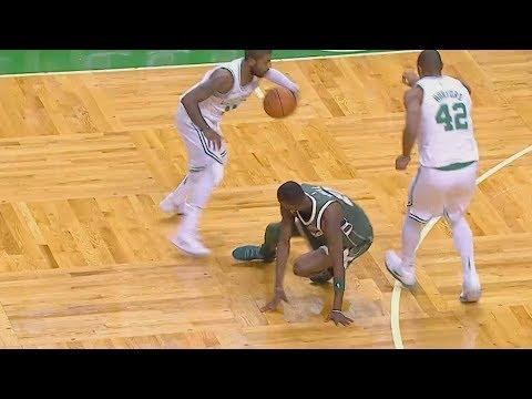 Download Youtube: Kyrie Irving BREAKS ANKLES!!! Giannis Antetokounmpo Drops 37 Points! Bucks vs Celtics