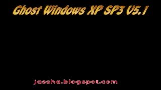 Ghost Windows XP SP3 V.5 .01