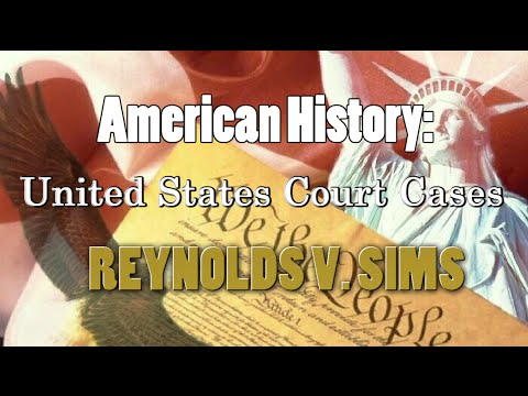 United States Supreme Court Case Profile: Reynolds v. Sims