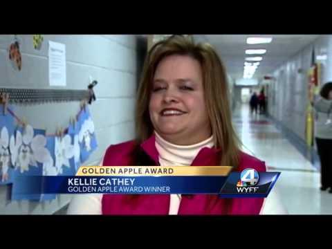Golden Apple Award: Kellie Cathey, Homeland Park Primary School
