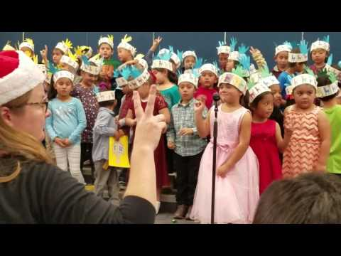 Mary Buren Elementary School Christmas Show 2016