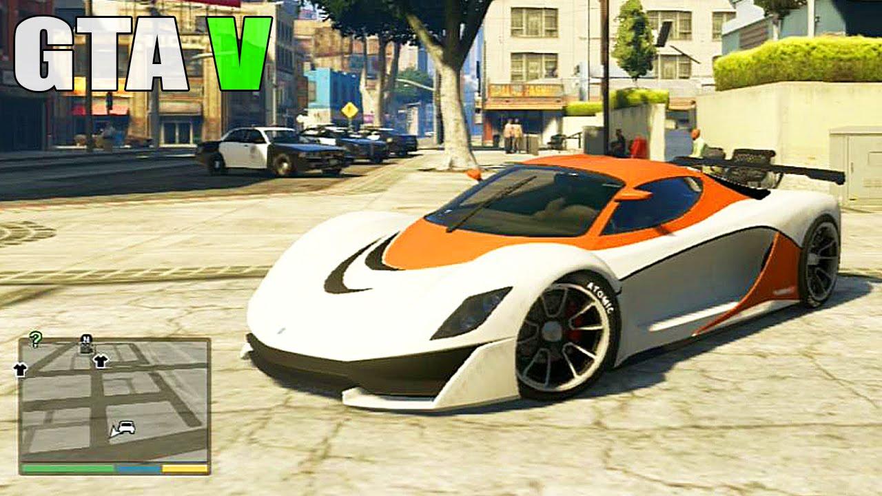 Grand Theft Auto V - Customizing Grotti Turismo R Super ...