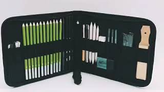 Drawing Pencils Professional Art Kit Art Supplies Drawing and Sketch Kit