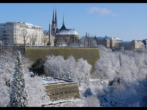 Luxembourg City: Christmas & Winter - Luxembourg City travel video - tourism - marché de noël
