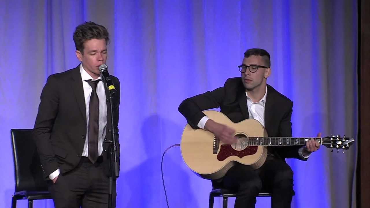 Fun. (Jack Antonoff and Nate Ruess) Headline Trevor Live ...