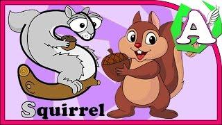 Развивающие видео - Азбука для малышей. Буква S. Learning animals.(Обучающее видео, которое поможет ребенку выучить русский и английский алфавит, выучить некоторые слова..., 2016-06-02T04:00:00.000Z)