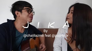AZMI feat Puji Ratna Sari Pernah JIKA COVER