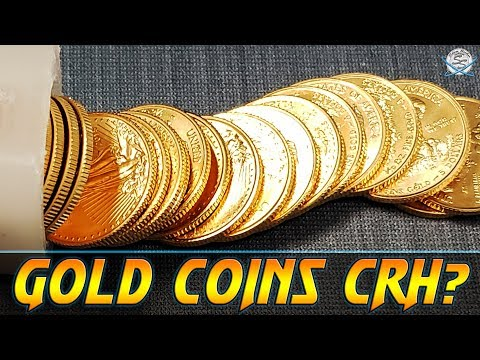 Coin Roll Hunting Gold Coins?!?