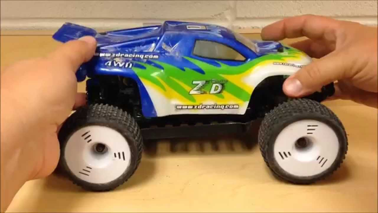 ZD Racing 1/16 Truggy ZMT-16 Review EP#36 - YouTube