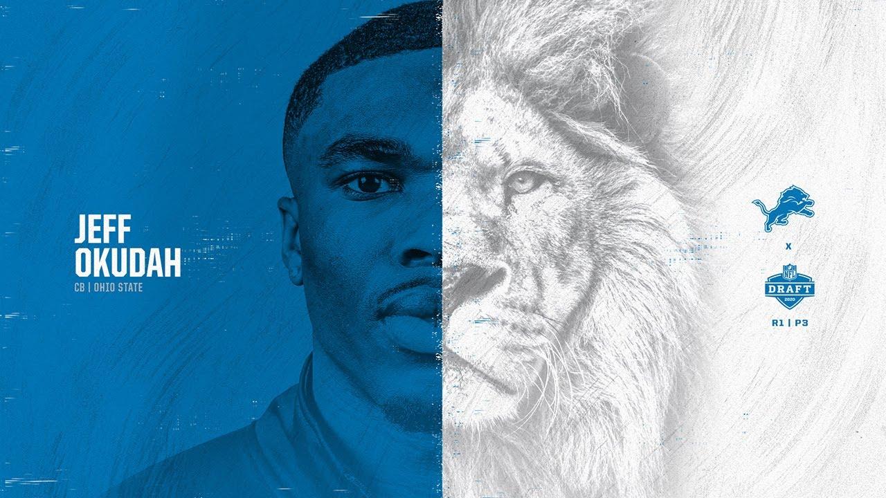 Lions draft cornerback Jeff Okudah