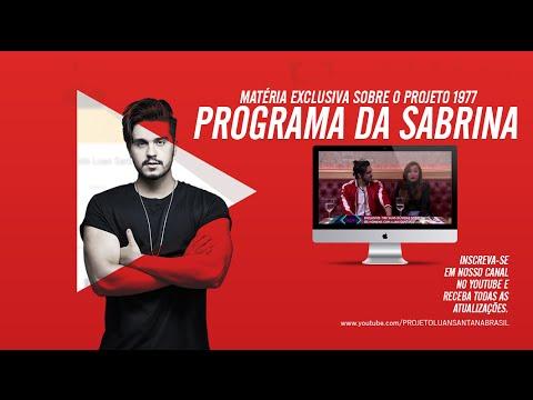 Luan Santana - Matéria sobre o projeto 1977 - Programa da Sabrina