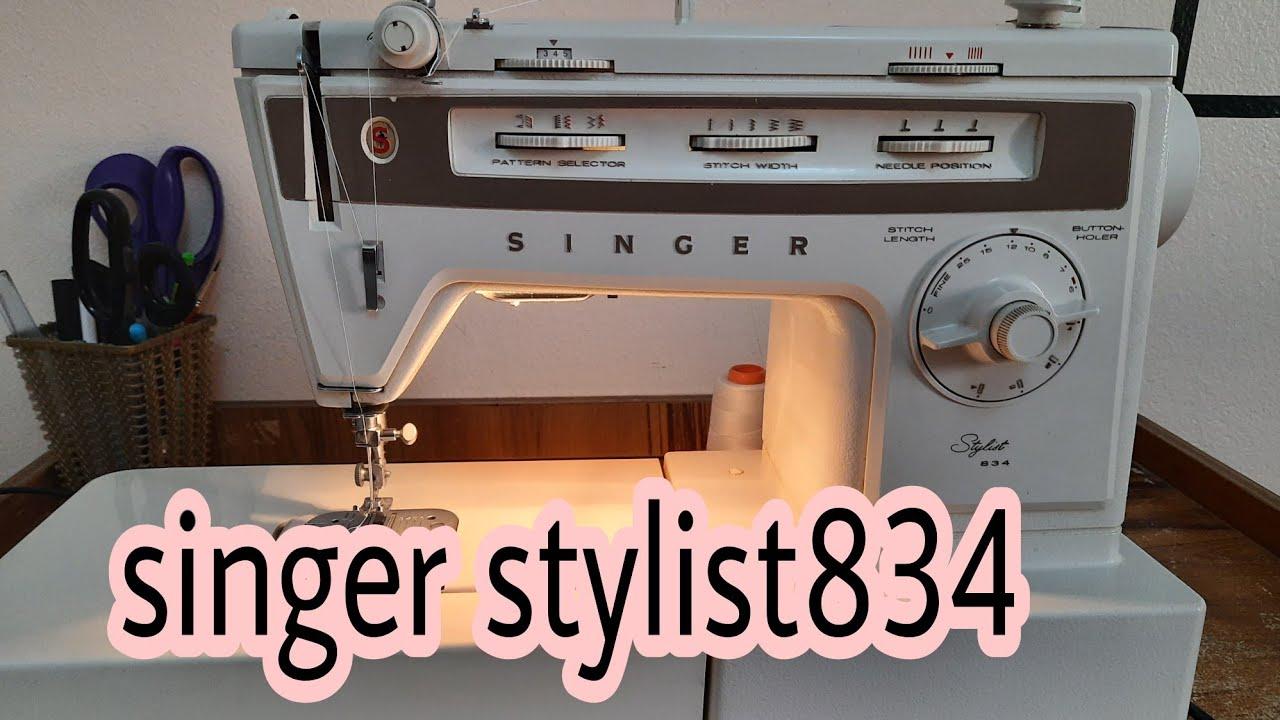 Download تعرف على ماكنة الخياطةsinger stylist 834