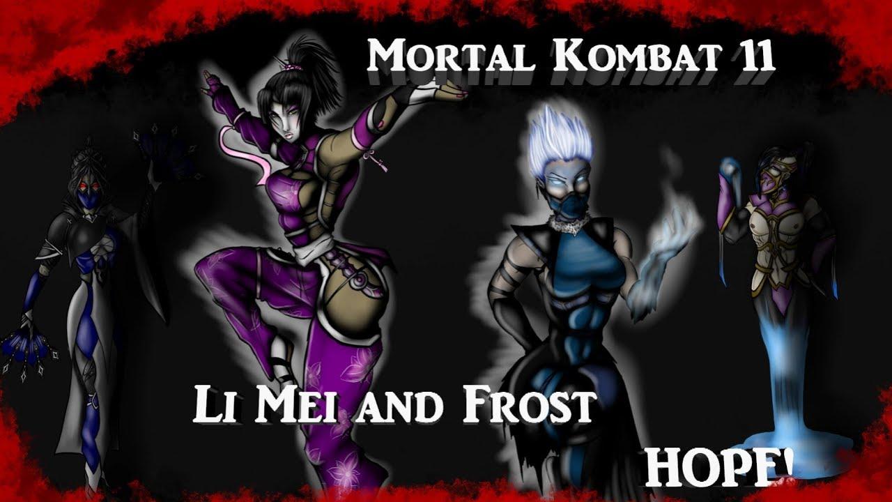 Mortal Kombat 11 Li Mei and Frost HOPE! - YouTube