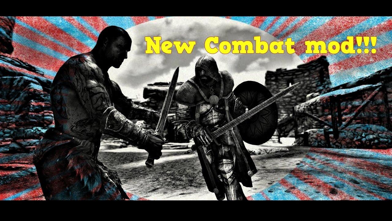 Skyrim SE: New Combat Animations!!