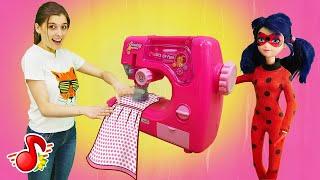 Ателье Леди Баг - Шьем одежду для Барби. Видео для детей МиМиЛэнд