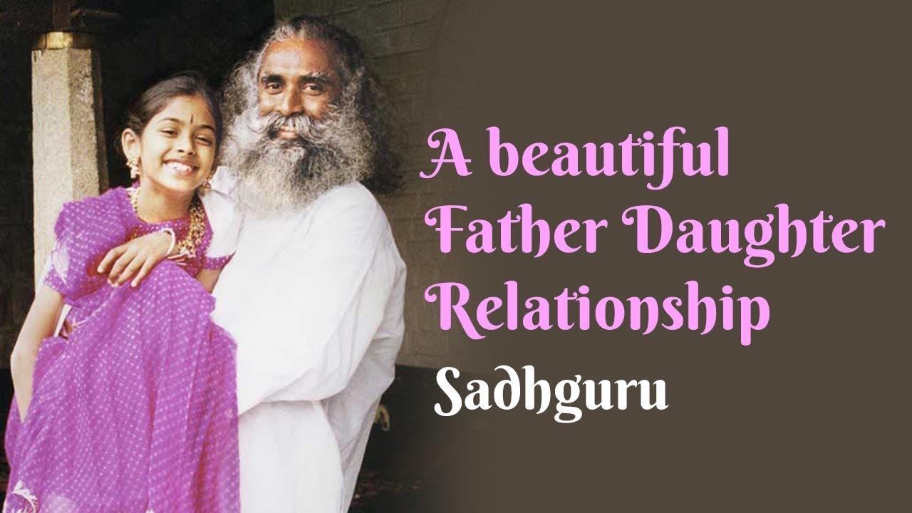 A Beautiful Father Daughter Relationship  Sadhguru - Youtube-3770