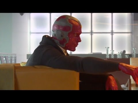 Vision @ Captain America Civil War | official featurette (2016) Paul Bettany