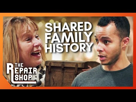Will Surprised By Antique Chest's Connection to his own Family  | The Repair Shop