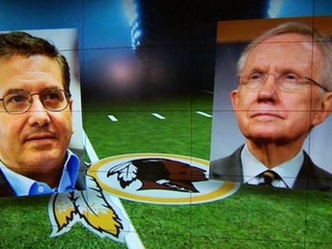 Redskins debate: Sen. Reid says it's time for team to change its name